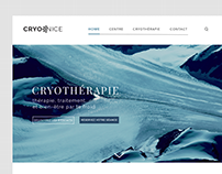 CRYONICE - Web Design