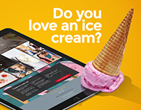 Ice Cream | Web & promotion
