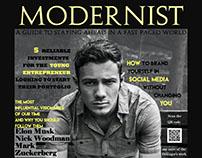 Modernist Magazine Cover