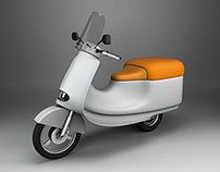 """YAMI"", the delivery scooter"