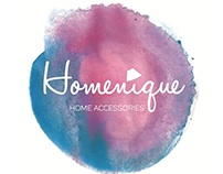 Logo for Homenique, Home Accessories