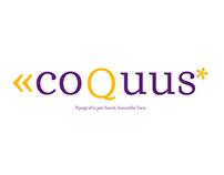 Coquus typography