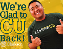 Donor Relations Postcard for Clarkson University
