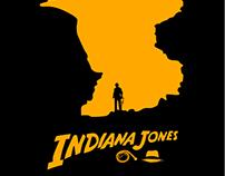 Affiche du film Indiana Jones