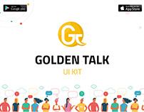 Golden Talk ( UI KIT )