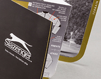 Slazenger - Hangtag Layout & Design