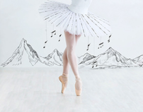 Youth Square Ballet Performance Poster Illustration