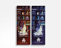 Bookworms' bookmarks