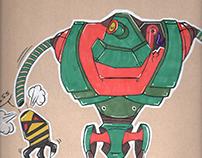 Robots gangs