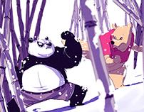 kung fu panda vs pooh