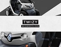 Twizy - Webdesign