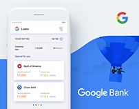 Google Bank Application Concept