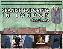 Spanish Tailoring In London - Juan Carlos