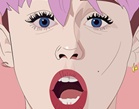 Miley Illustration