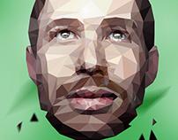 Polygon art - Cristian Iacobanu
