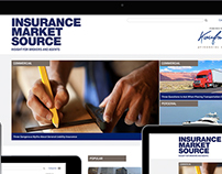 Insurance Market Source Website Design