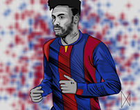 neymar jr vector art