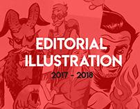 Ilustração editorial | 17/18