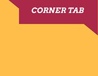 CORNER TAB - ICONE
