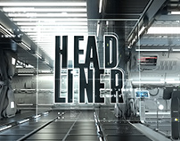 HEADLINER Video Mapping - Space Station