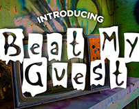 Free Font: Beat My Guest