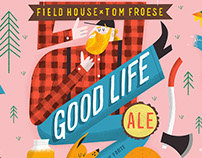 Field House Brewing Co. x Tom Froese Collaboration