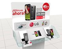 Propuesta glorificador móviles LG