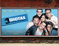 3 IDIOTAS / MOVIE POSTER
