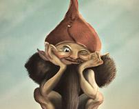 Don't gnomi, be happy! Digital Illustration