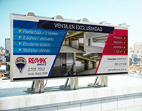 RE/MAX Real Estate - Street Special Sale Sign