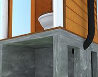 Baño Seco con Doble Cámara