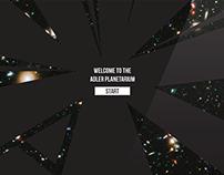 Adler Planetarium Identity Re-Design