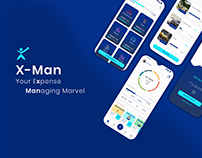 X-Man - A money manager app UX UI