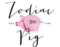 Pigxel / Zodiac Pig project 2018