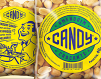 Candy Amendoim . Nuts Packaging n' Branding