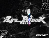 Niro_Black - Free font