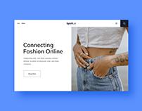 UI/UX Website Design (Spirit.Pk)