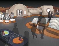 Mars Exhibit Concept Design