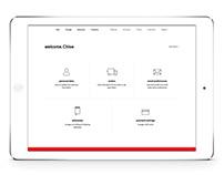 Corelle Website Redesign