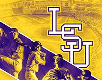 LSU Baseball Poster 2018