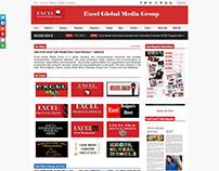 Excel Global Media Group Website