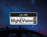 Night vision badge