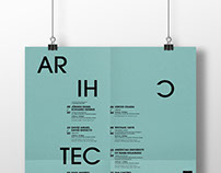 LECTURE SERIES // POSTER