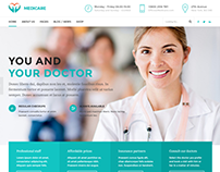 Medicare - Medical & Health WordPress Theme