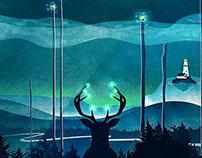 Keeper of the Light | Digital Art