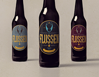FLUSSEN // Label beer
