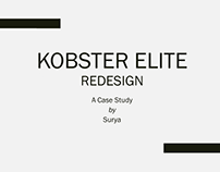 Kobster Elite - Redesign - A Case Study