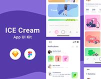 Ice Cream Ui Kit