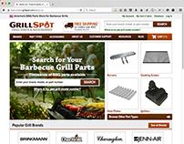 Grill Spot Website