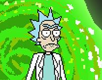 Rick and Morty - PIXEL ART